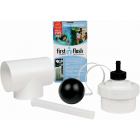 "4"" Round Downpipe First Flush Water Diverter Kit"
