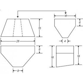 16 Gallon Marine Fresh Water Tank