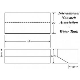 54 Gallon Marine Fresh Water Tank