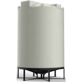 4600 Gallon Cone Bottom Tank with Stand