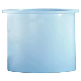 17 Gallon PP Cylindrical Open Top Tank