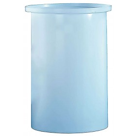 70 Gallon PP Cylindrical Open Top Tank
