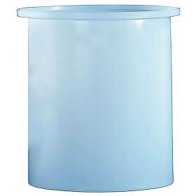 85 Gallon PE Cylindrical Open Top Tank