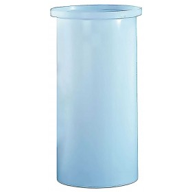 180 Gallon PP Cylindrical Open Top Tank