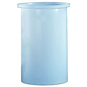 150 Gallon PE Cylindrical Open Top Tank