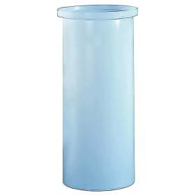 575 Gallon PE Cylindrical Open Top Tank