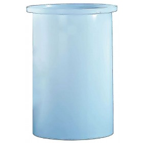 550 Gallon PP Cylindrical Open Top Tank