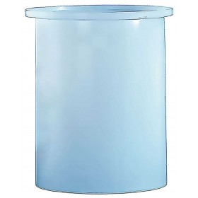 700 Gallon PE Cylindrical Open Top Tank