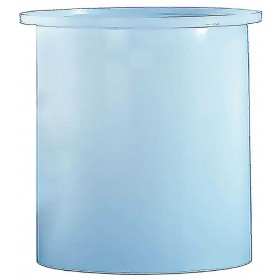 800 Gallon PE Cylindrical Open Top Tank