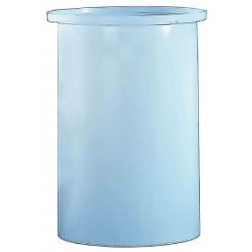 1100 Gallon PE Cylindrical Open Top Tank