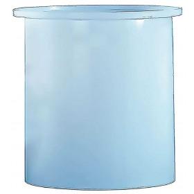 1000 Gallon PE Cylindrical Open Top Tank