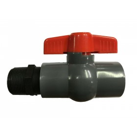 "1"" Garden Hose Adapter Ball Valve"