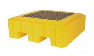 UltraTech 1-Drum Spill Pallet Plus, With Drain