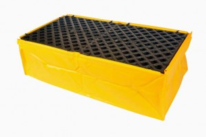 UltraTech 2-Drum Spill Pallet Flexible, With Drain