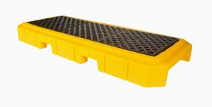 UltraTech 3-Drum Spill Pallet Plus, Without Drain