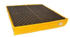UltraTech 4-Drum Spill Pallet Flexible, With Drain