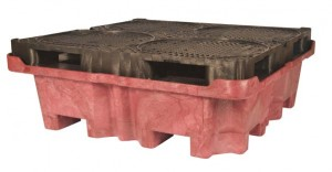 UltraTech Spill King Spill Pallet and Sump, With Drain