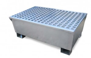 UltraTech 2-Drum Steel Spill Pallet