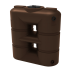 130 Gallon Brown Slimline Rainwater Storage Tank