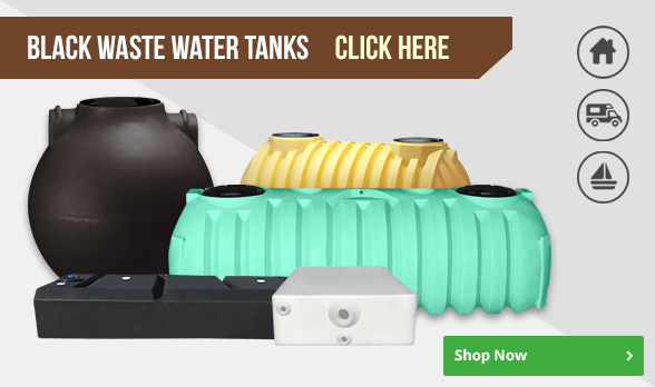 Black Waste Water Holding Tanks