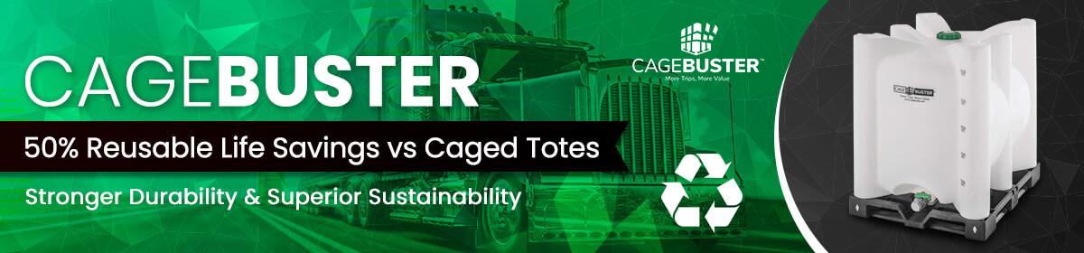 Cagebuster IBC Totes