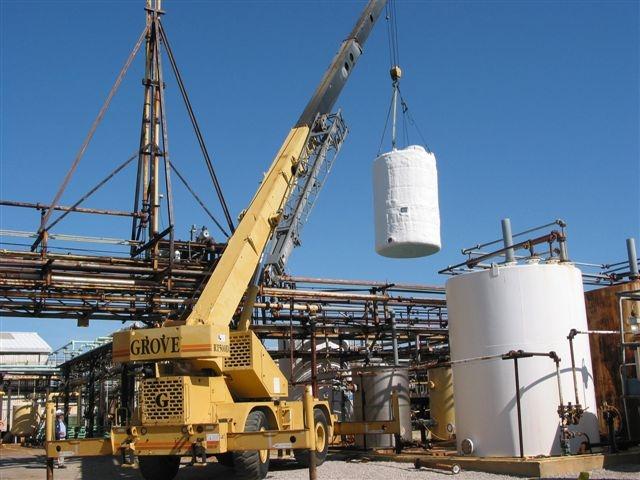 Insulated Vertical Storage Tank