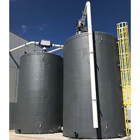 Food Processing Fiberglass Tanks