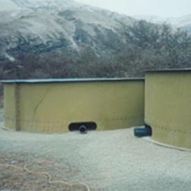 Multi-Piece Fiberglass Tanks