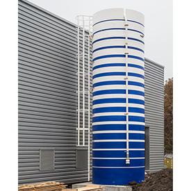 Rainwater Collection Fiberglass Tanks