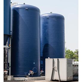 Water Storage Fiberglass Tanks